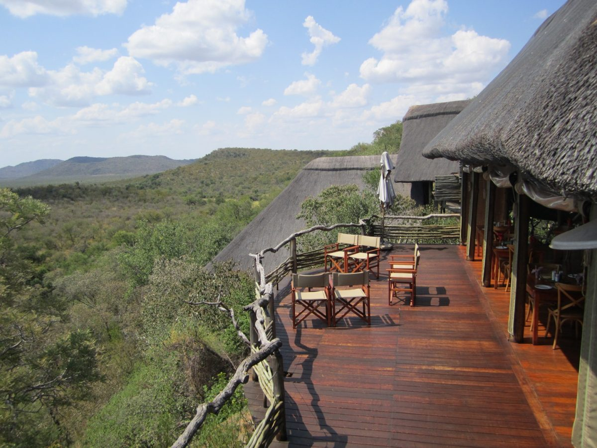 Vista do Buffalo Ridge no Madikwe