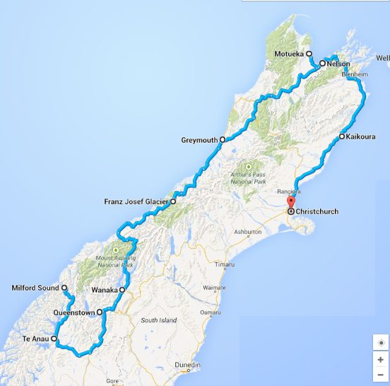 Roadtrip WestCoast NZ
