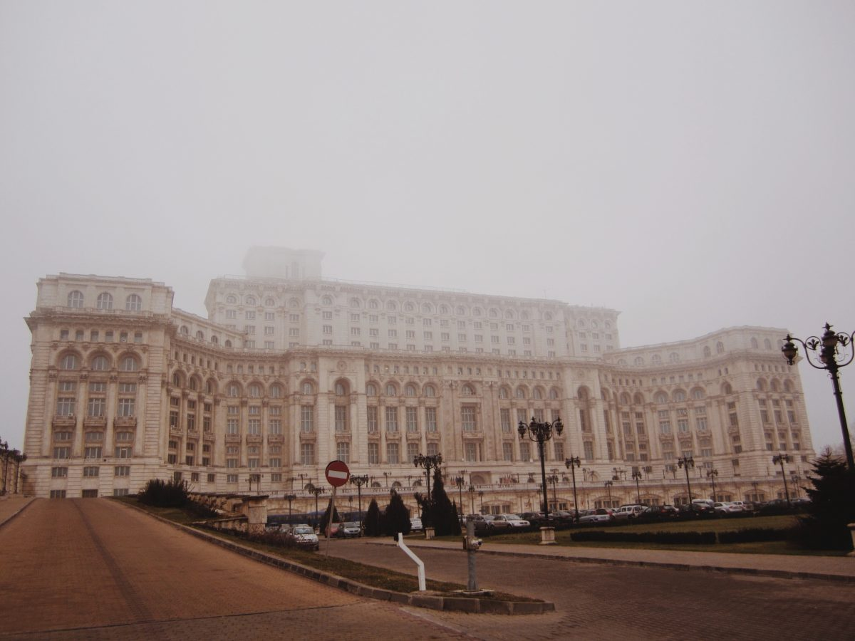 parlamento palacio bucareste romenia