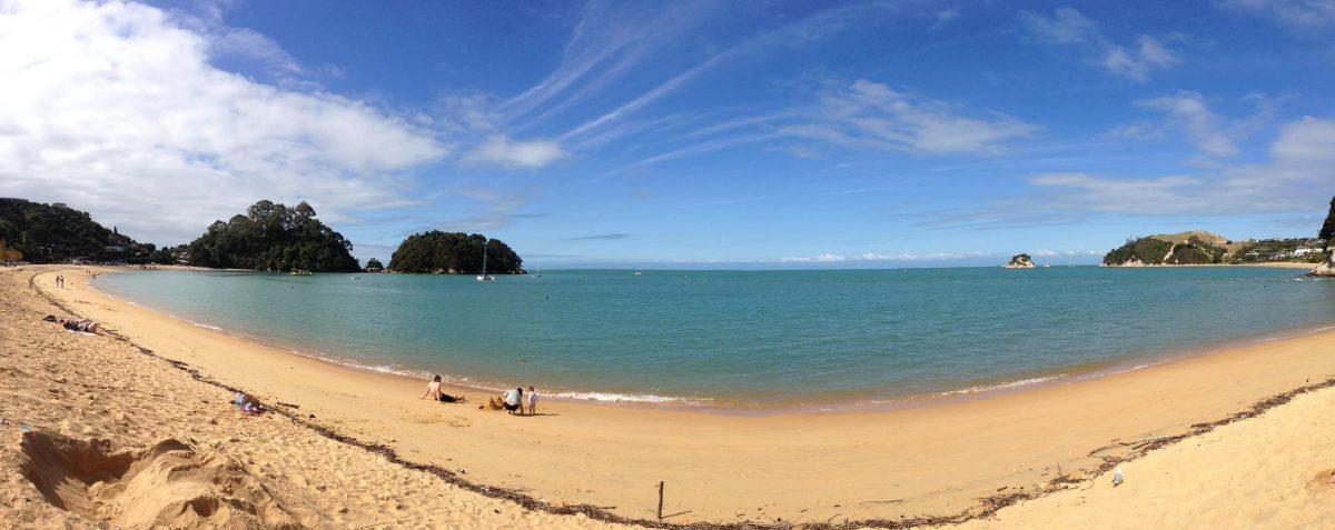 Kaiteriteri_beach_Ilha_Sul_da_Nova_Zelândia