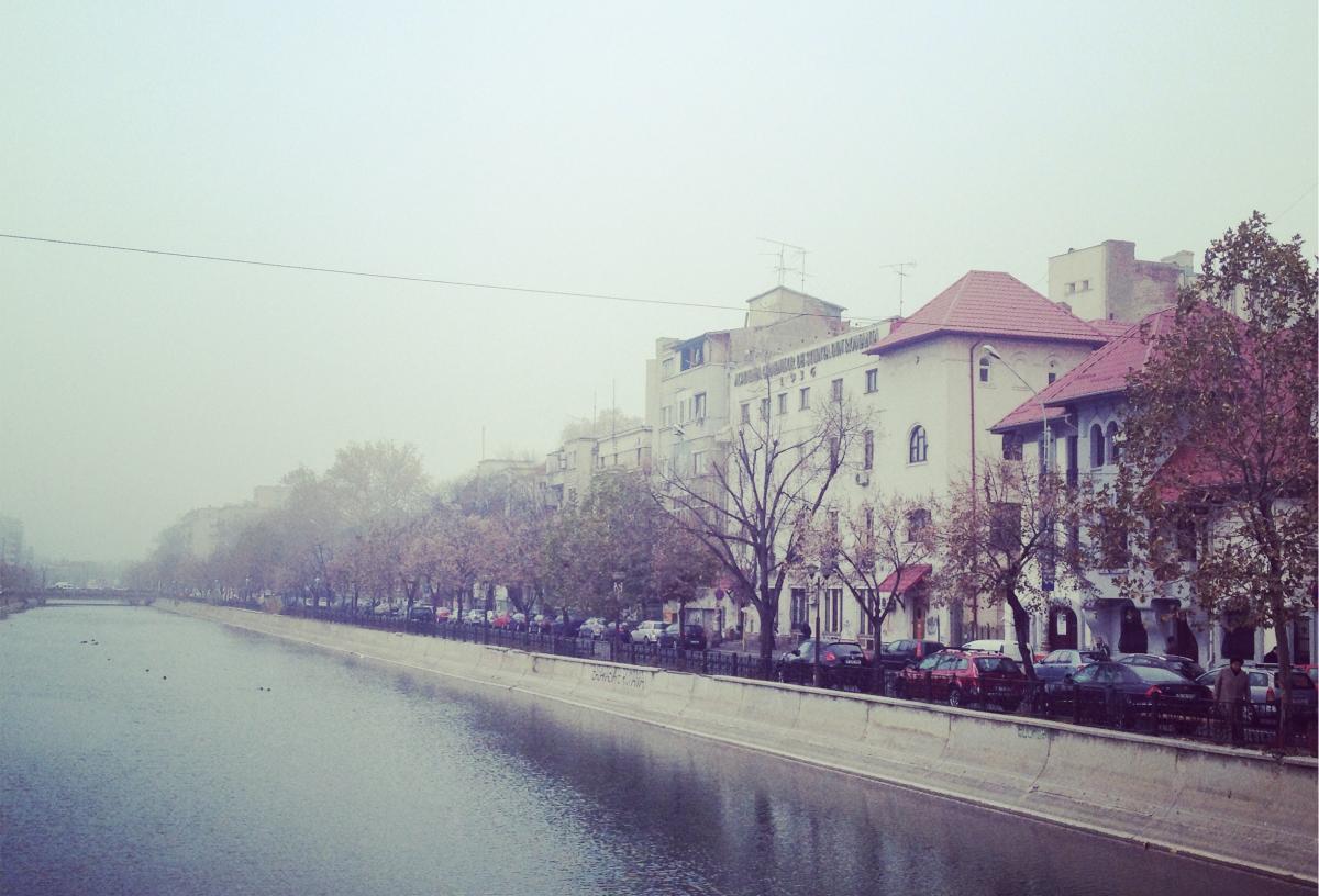 Um dia em Bucareste, Romênia