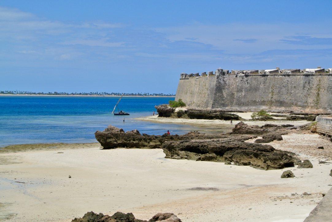 Fortaleza na ilha de moçambique
