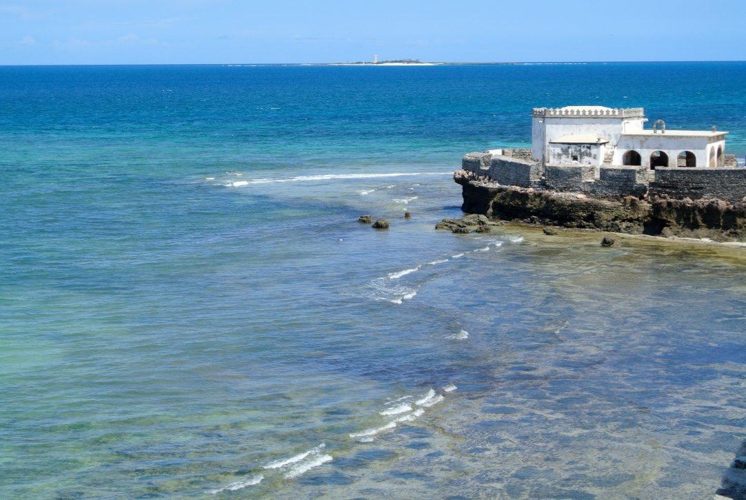 vista da ilha de moçambique