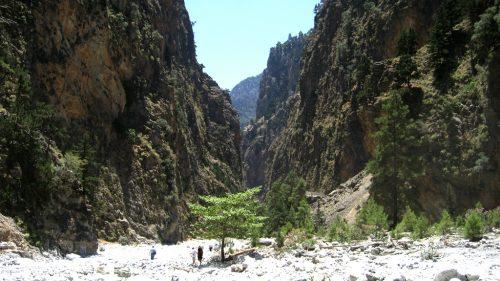 Samaria Gorge em Creta, melhor hiking na Grécia