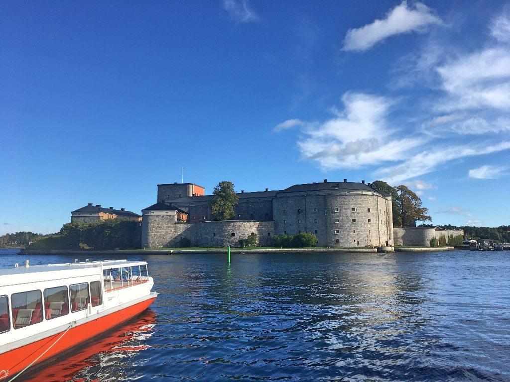 Vaxholm e Arquipélagos de Estocolmo citadela