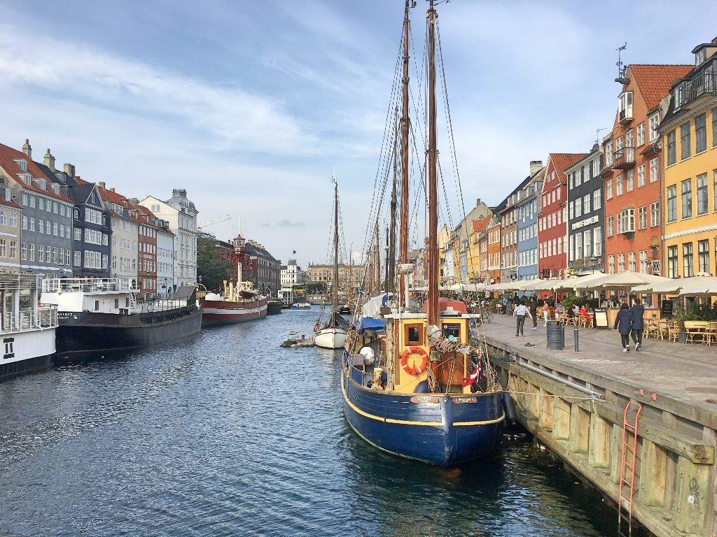Nyhavn, porto antigo de Copenhague