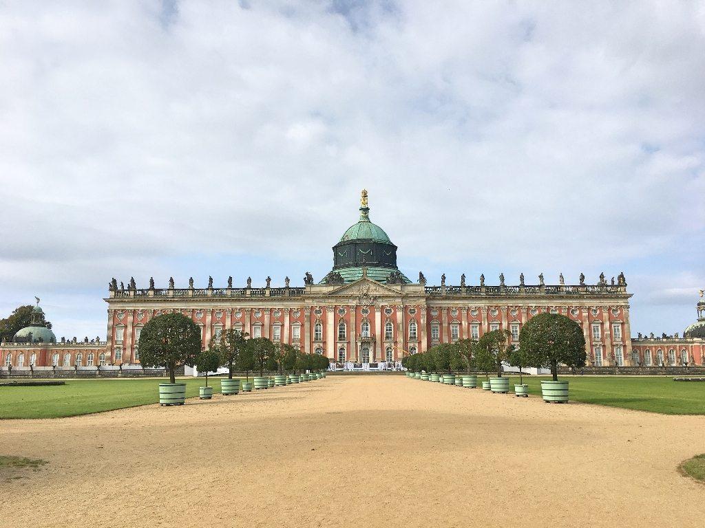 palácio novo em potsdam