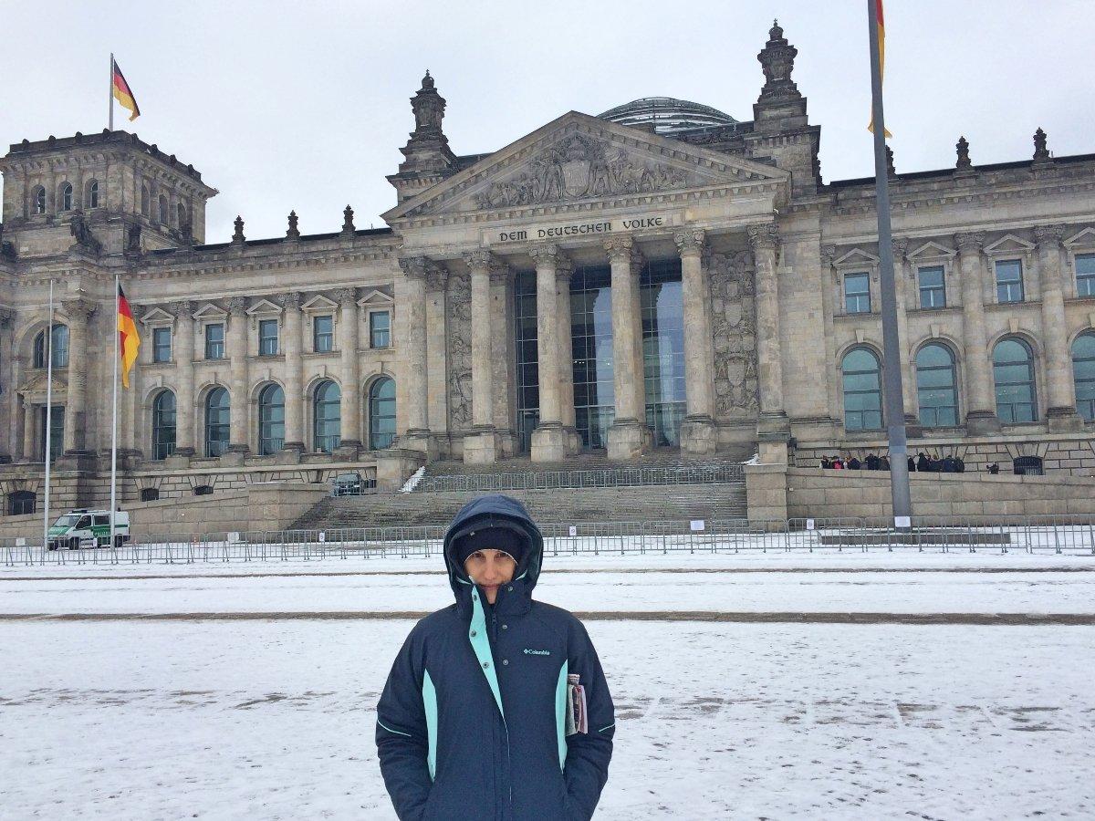 berlim no inverno reischtag