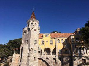 Museu Conde de Castro Guimarães visto da rua o que fazer em cascais