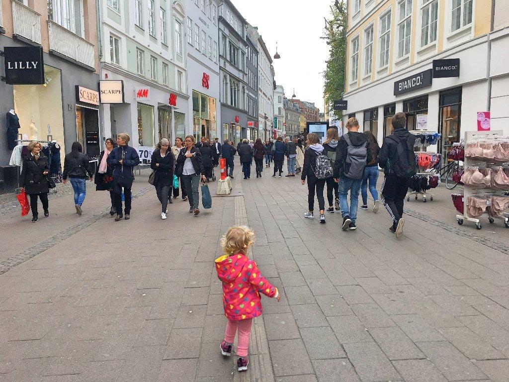 Copenhague com crianças