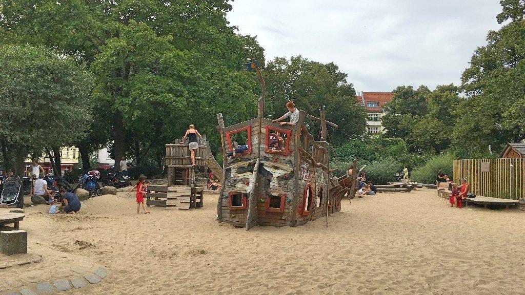 Melhores parques em Berlim, com parquinhos infantis