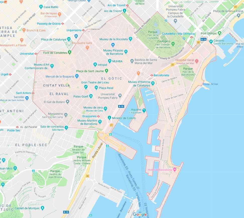 Onde ficar em Barcelona_centro