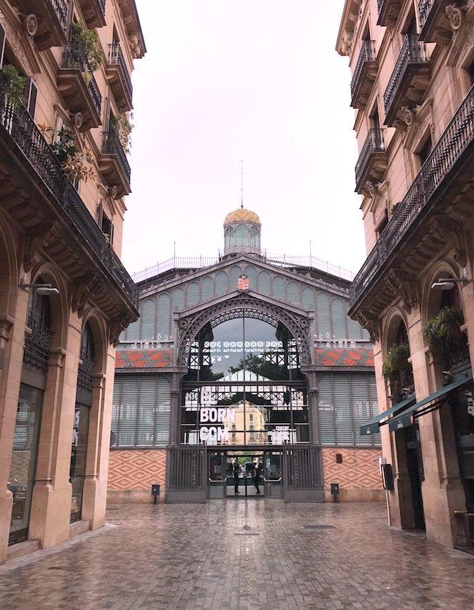 Roteiro_de_3_dias_em_Barcelona_Mercat_del_Born