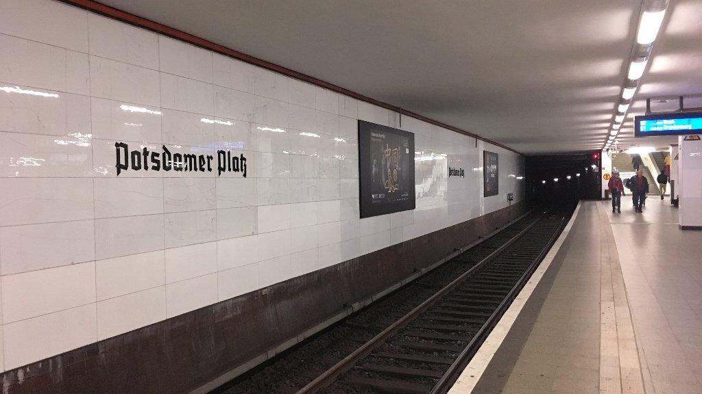 Estação de metrô Postdamer Platz