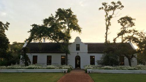 Vinícola Spier: Onde ficar em Stellenbosch