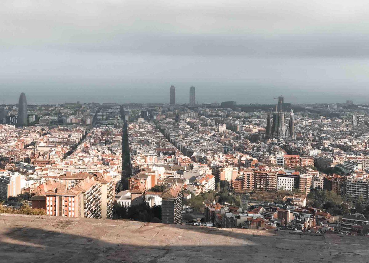 5 lugares diferentes em Barcelona