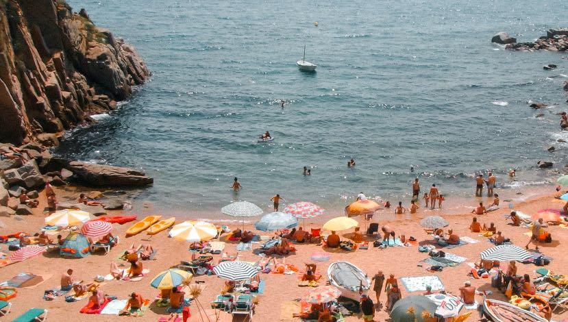 5 melhores praias perto de Barcelona na Costa Brava