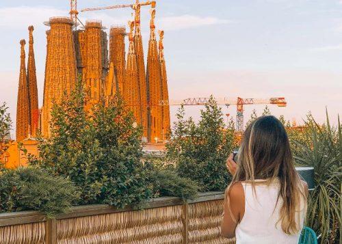 Hotel perto da Sagrada Família em Barcelona