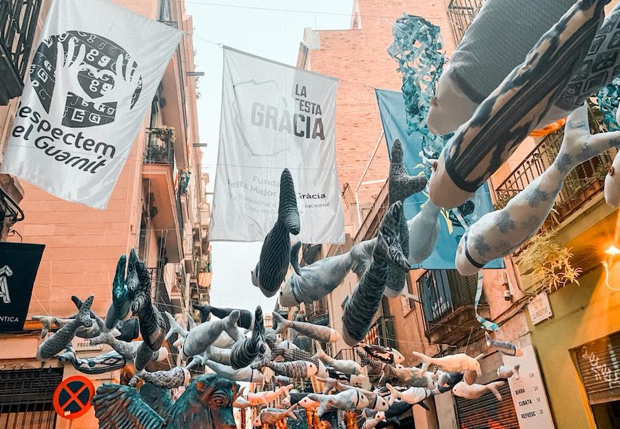 Festas típicas de verão em Barcelona 2019