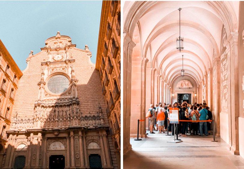 Barcelona-a-Montserrat-mosteiro-montserrat