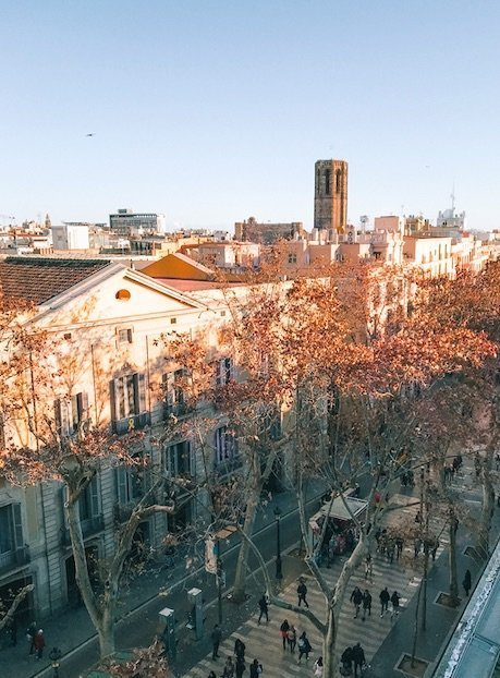 Barcelona-em-Outubro-la-rambla
