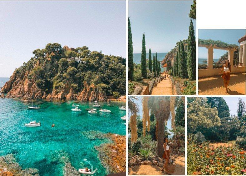 Praias-perto-de-Barcelona-blanes-jardim