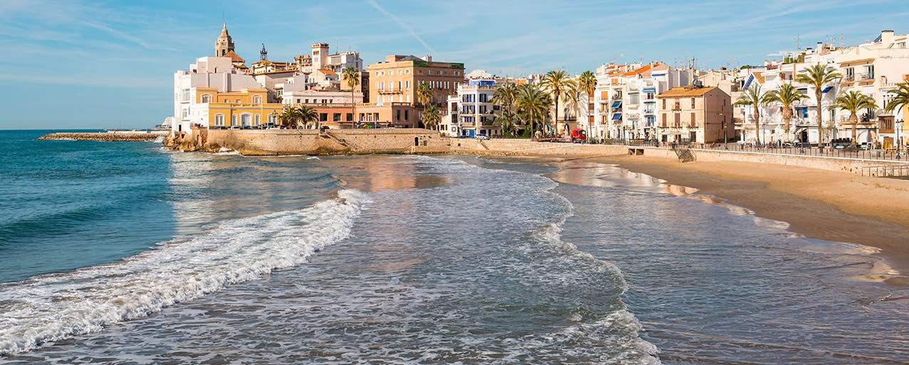 Praias-perto-de-Barcelona-sitges