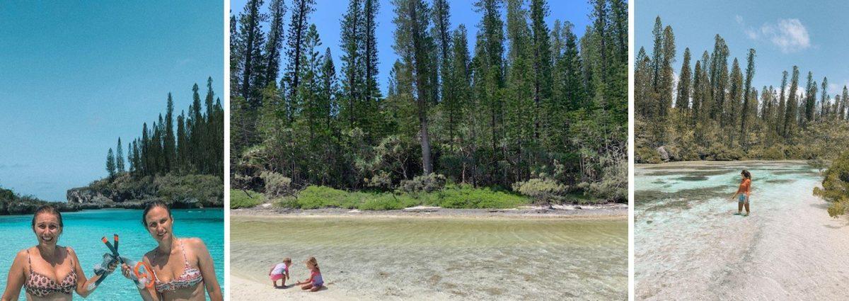 piscina natural na ilha dos pinhos