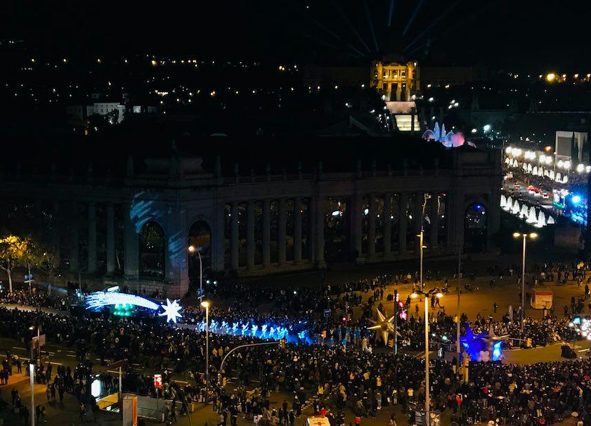 Barcelona em janeiro de 2020