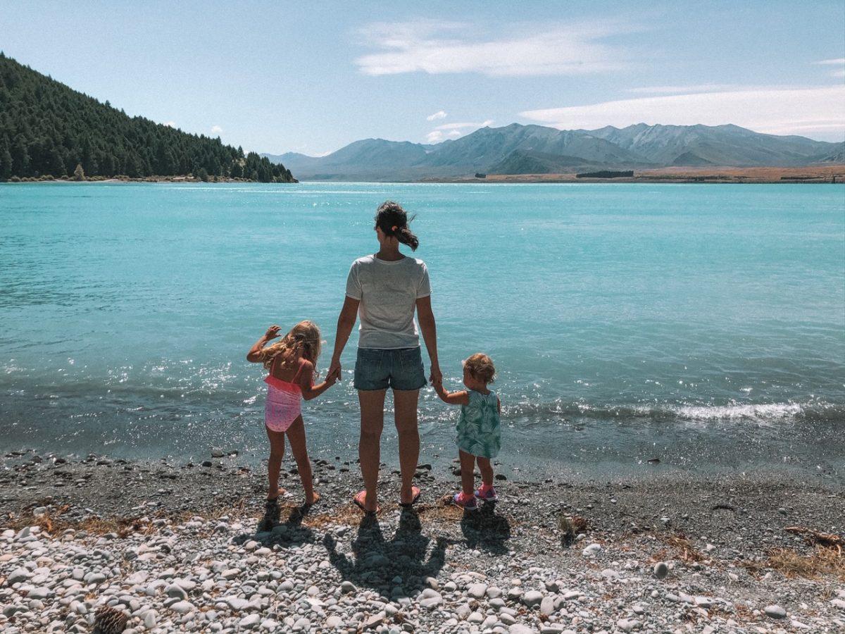 Viajar para a Nova Zelândia com bebês e crianças pequenas