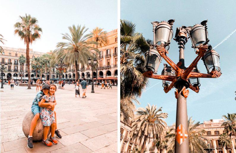 barcelona-com-crianças-praça-reial