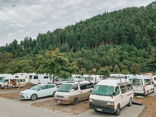 camping para motorhome na nova zelândia