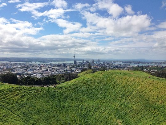 Cume do Mt Eden